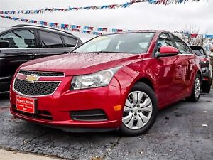 2014 Chevrolet Cruze LT..ONE OWNER..LOCAL TRADE..LOW KLMS...