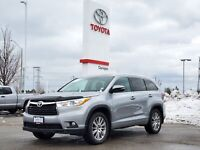 2016 Toyota Highlander AWD XLE Leather Roof Nav Alloys Low Km's!