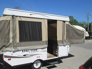 2015 Starcraft 10 tent trailer, 2 queen beds
