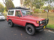 Rare 1988 Toyota Landcruiser FJ73 FRP top Woy Woy Gosford Area Preview