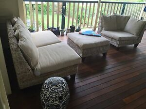 Cane - Water Hyacinth Outdoor Furniture Set - Ashgrove Ashgrove Brisbane North West Preview