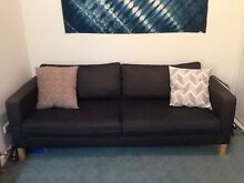 Karlstad IKEA 3 seater Couch Carlton North Melbourne City Preview