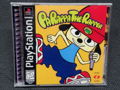 Reproduction PaRappa the Rapper (PS1) Manual Insert and Case