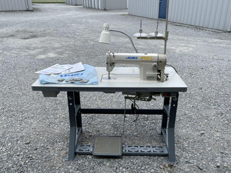 Mechanical Single Needle Sewing Machine Juki DDL-8300N Barely Used