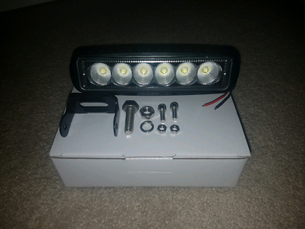 2x 6 inch LED light bar