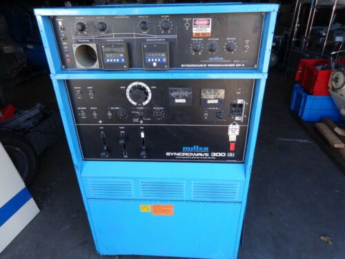 Miller Electric Syncrowave Programmer SP-4 & Syncrowave 300 (S)