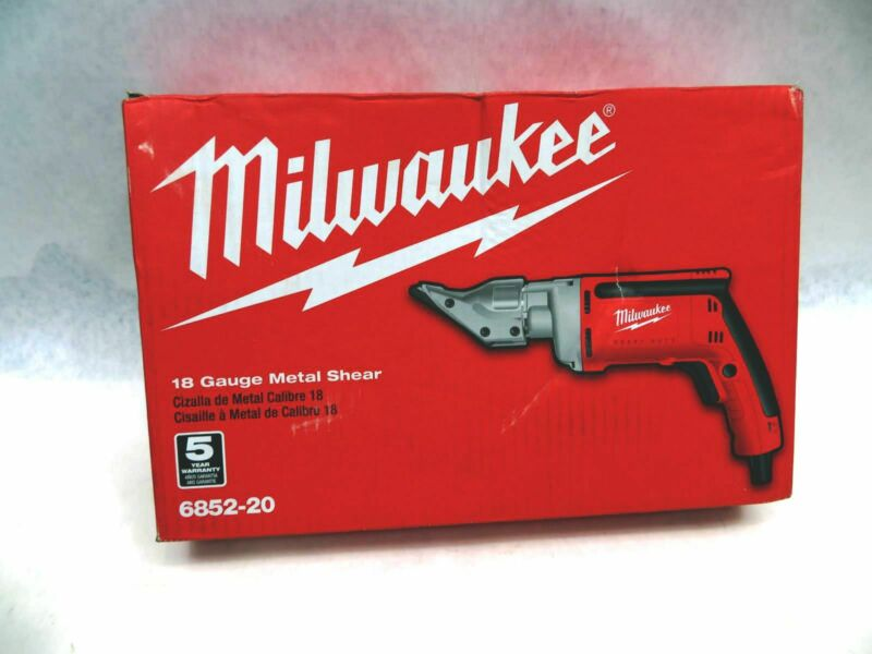 Milwaukee 6852-20 18-Gauge Metal Shear