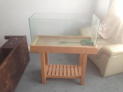 Fish tank. Aquarium and stand Fulham West Torrens Area Preview