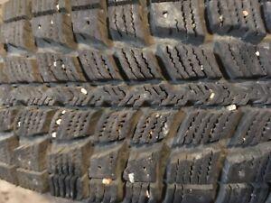 2 Winter Tires - 175/70R13 - 90% tread