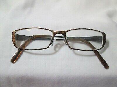 Elle Women's Rx Eyeglasses Frames EL18715 Leopard Black 52-15-140 (Leopard Eyeglasses)