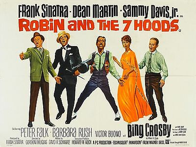 """Robin and the seven hoods 16"""" x 12"""" Reproduction Movie Poster Photograph"""