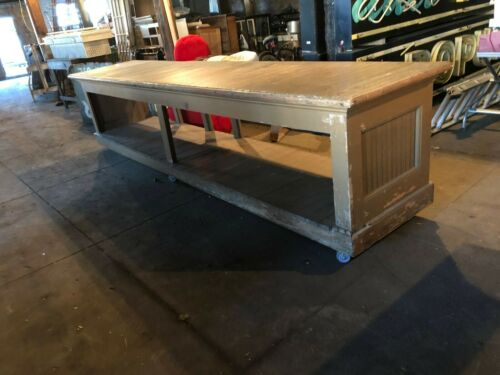 Antique store counter , General Store Counter, Mercantile Sales Counter 3 Avail
