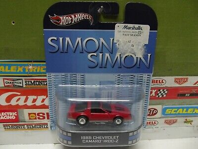 HOT WHEELS 1:64 SIMON & SIMON 1985 CHEVY CAMARO IROC-Z, X8928