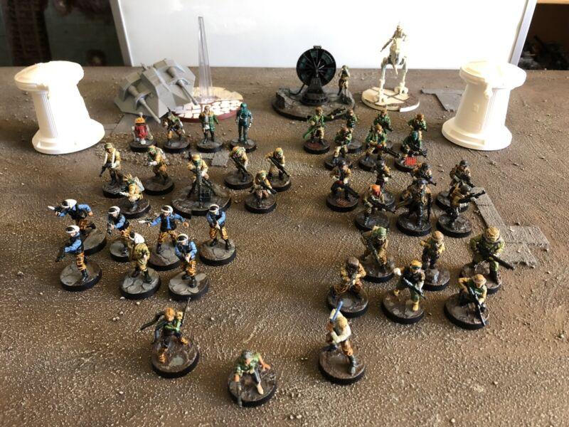 Star Wars Legion Painted Rebel Lot