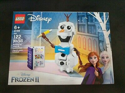 LEGO Disney Frozen 2 Olaf 41169 Snowman Toy Figure New In Box 2019 122 Pieces
