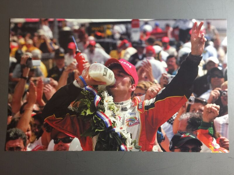 2006 Dan Wheldon Indy 500 Victory Indy Car Print Picture Poster RARE!!