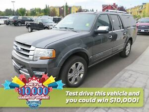 2017 Ford Expedition Max Platinum 3.5l GTDI v6 Loaded 8 seater!