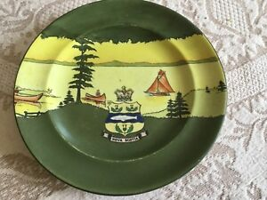 Antique Nova Scotia plate Frank Beardmore & Co