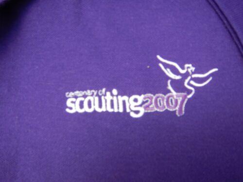 Centenary of Scouting 2007 polo shirt