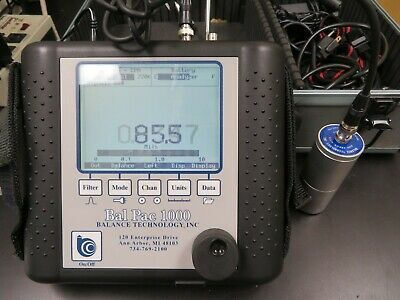 Balance Technology Bal Pac 1000 Vibration Analyzer Ol22