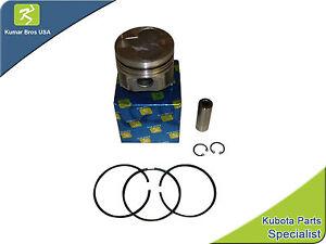 New Kubota V1305 Kit Piston & Rings +.5