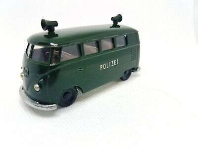 L@@K! Its ACME Auctions VINTAGE SIKU #V212  VW POLIZEI PANEL BUS MADE IN GERMANY
