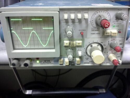 Tektronix 314 Oscilloscope WORKS GREAT. A Classic! Analog CRT storage technology