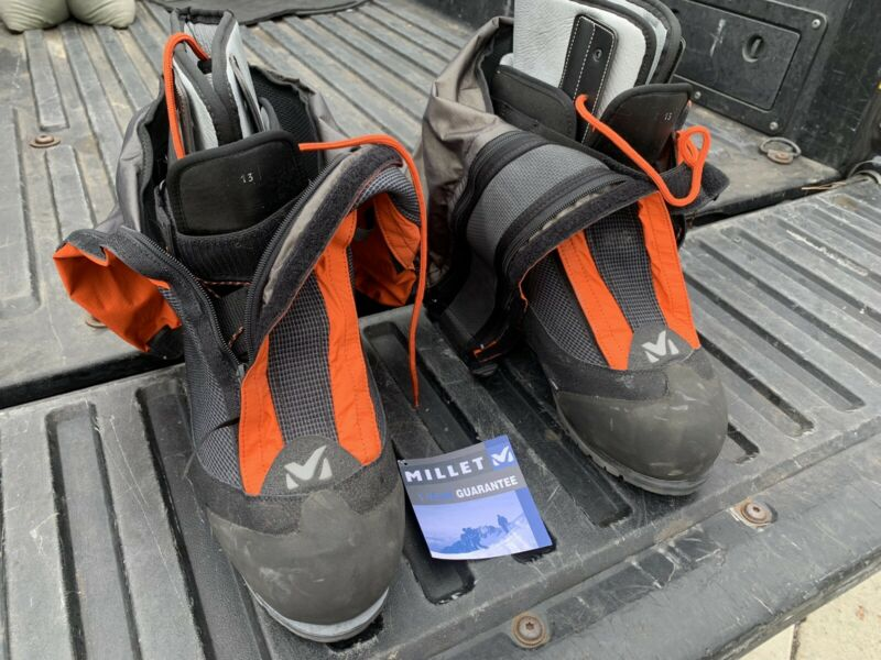 Millet Everest Mountaineering Boot Snow Gore-Tex Size 14
