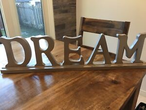 """Dream"" Sign"