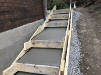 CONCRETE STAIRS*SLABS*PADS*GARAGES*BASEMENT & WALKWAYS