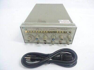 Hp 3312a Function Generator Modulation Hewlett Packard