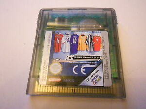 PLAYER-MANAGER-2001-FOOTBALL-NINTENDO-GAMEBOY-COLOR-ADVANCE-SP-GBC-GAME