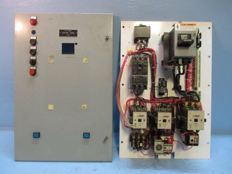 Siemens Model 95 Size 3 Reduced Voltage Starter 75 HP 100 Amp Breaker MCC Bucket