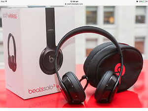 Beats solo3 Wireless On-Ear Headphones (Black) Liverpool Liverpool Area Preview