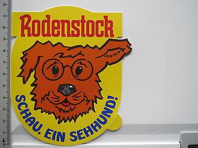 Aufkleber Sticker Rodenstock - Brillen - Gläser - Optik (6400)