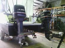 twin yamaha 250hp saltwater ser vx 2001 2 stroke 30 inch outboard Maryborough Fraser Coast Preview
