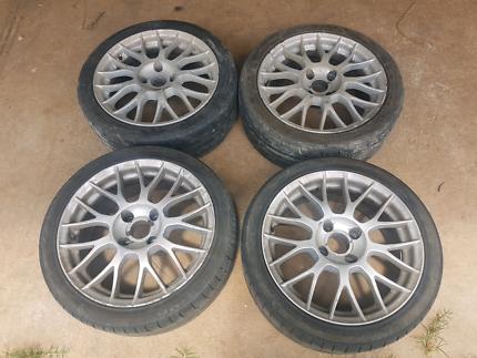 17x7 4x114.3 Wheels Rims Tyres