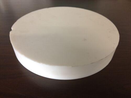 "TEFLON Round plate 1.25"" x 8 7/16"" diameter"