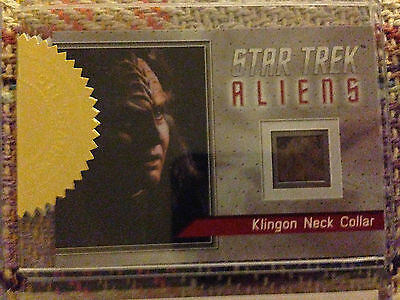 Star Trek Aliens Archive Box Exclusive Relic Card R1 Klingon Neck Collar 41/80