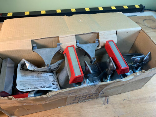 Complete In Box Vunder Vise like a Zyliss Vise -w/ All Accessories - Barely Used
