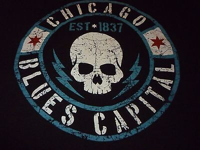 Chicago Blues Capital Shirt ( Used Size XL No Tag ) Very Nice Condition!!!