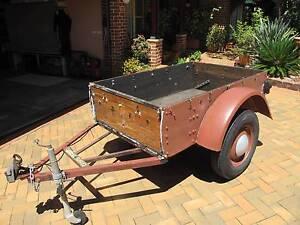 6x4 wooden vintage box trailer Shellharbour Shellharbour Area Preview