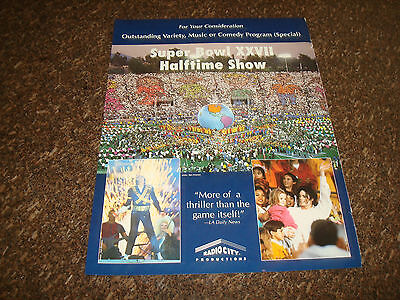 Michael Jackson At Super Bowl Xxvii Halftime Show 1993 Emmy Ad  More A Thriller