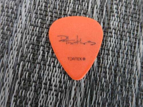 Dave Matthews pick used coa + Proof! Dave Matthews Band guitar pick DMB used
