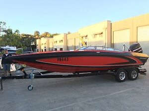 Checkmate 24 feet bow rider - bowrider 300xs Mercury Racing 70MPH Helensvale Gold Coast North Preview