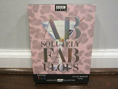 Absolutely Fabulous - The Complete Collection: Series 1-3 (4 DVD Set, 2001)