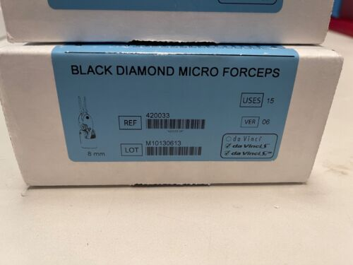 Intuitive Surgical Black Diamond Micro Forceps, RE: 420033