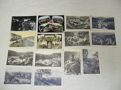 Vintage : lot de cpa Luxembourg état voir photos