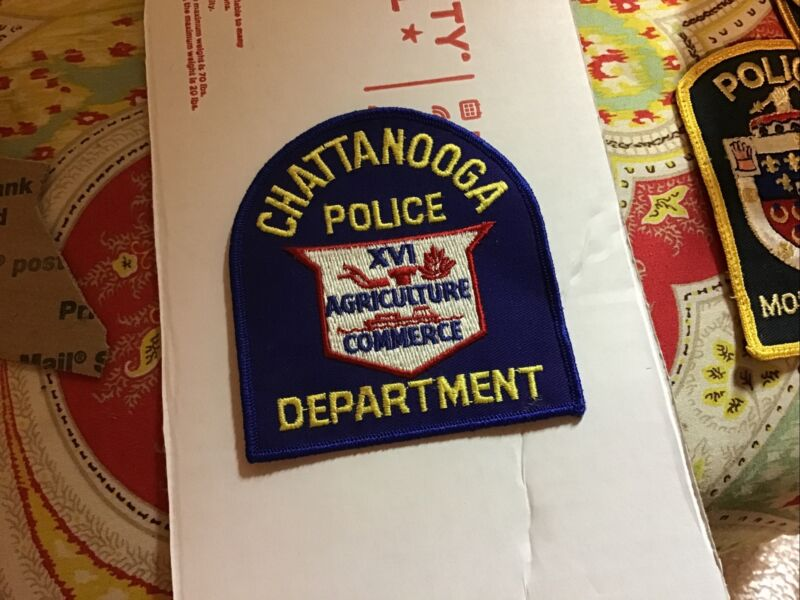 Chatttanoga Tennessee Police Department Patch New Old Stock