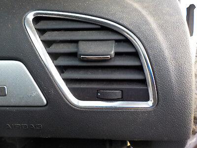 2009 2010 2011 2012 AUDI A4 DASH PASSENGER SIDE (RIGHT) A/C AIR VENT TRIM